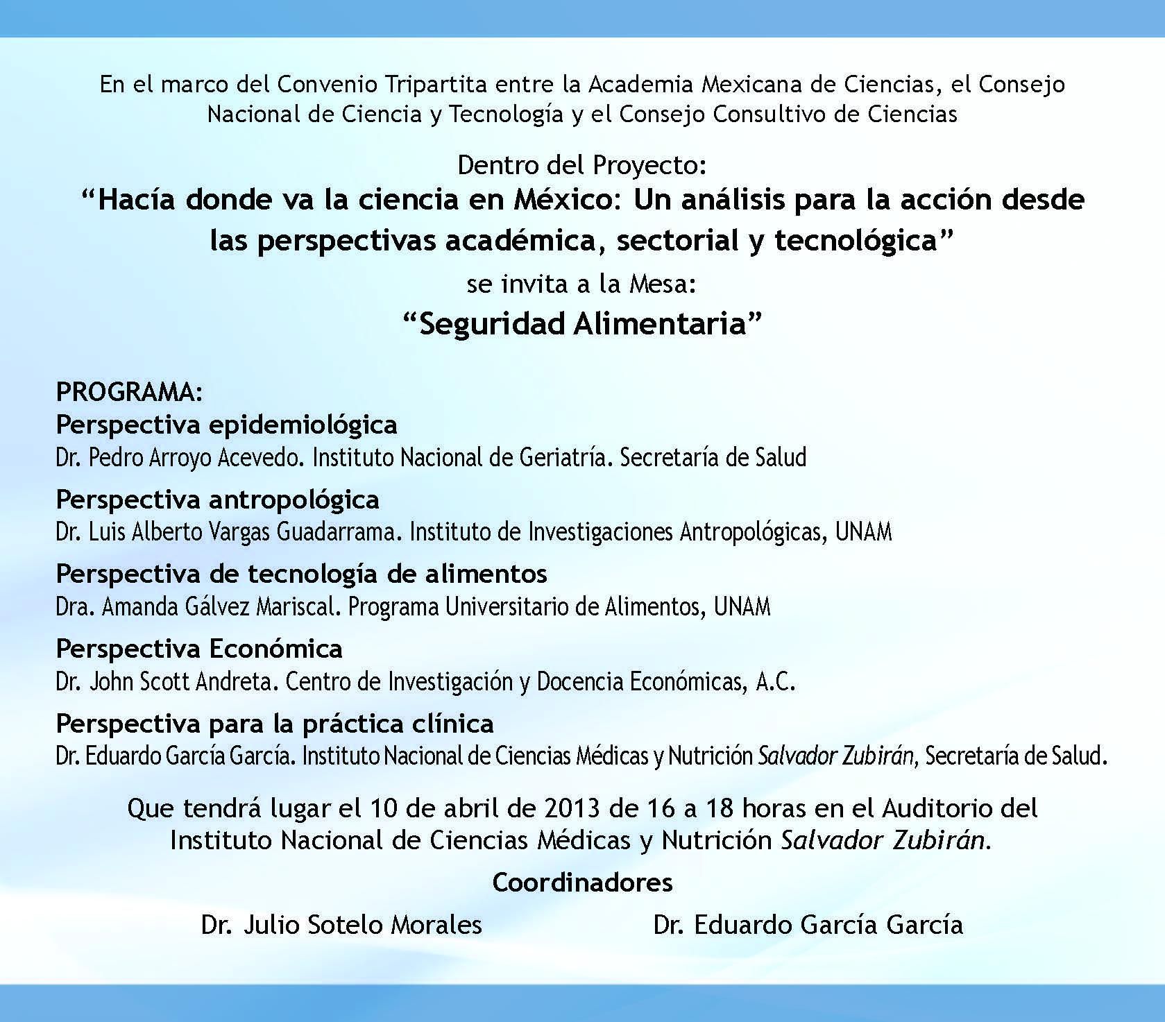 Inseguridad Alimentaria En Mexico Pdf